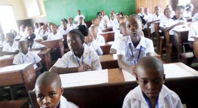 élèves primaire l'ENAFEP