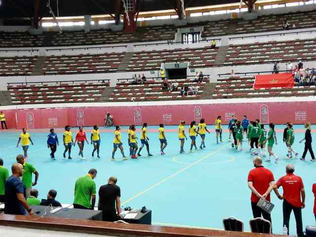 12ème édition des Jeux africains Maroc 2019 la RDC photo prise par Erick Ks