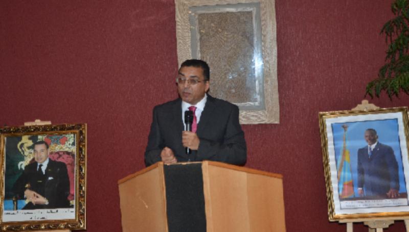 Ambassadeur du royaume de Maroc au congo Rachid Agassim