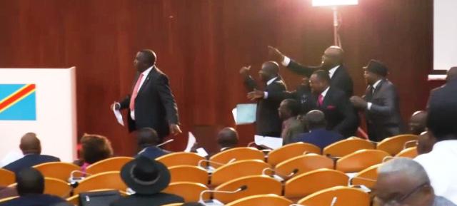 Assemblée Nationale la tension entre fcc et lamuka
