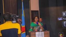 Au cours d'une cérémonie d'échange de vœux avec la presse Mabunda répond à Tshisekedi