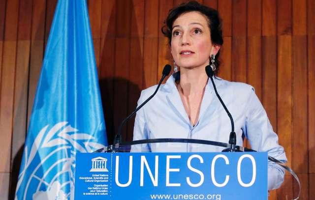 Audrey Azoulay, nouvelle directrice générale de l'UNESCO