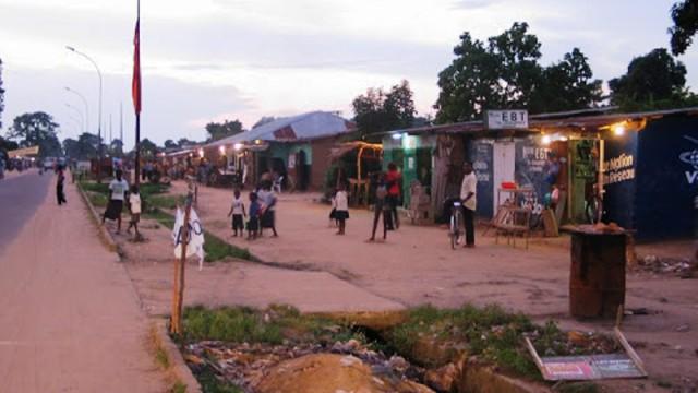 Bandundu-ville, chef-lieu de la province du Bandundu. Ph/ Droits Tiers.