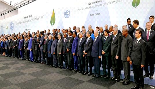 COP 24 à Katowice en Pologne photo de famille
