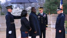 Chef de l'Etat congolais, Félix Tshisekedi lors de sa visite aux Etats-Unis d'Amérique