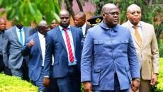 Chef de l'Etat au sud kivu felix tshilombo