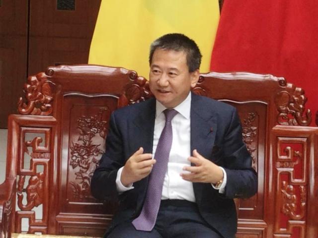 Chinois Huang Xia envoyé special Envoyé spécial des Nations Unies dans le grand lac photo prise par Erick ks