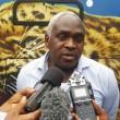 Christian Sengi Biembe, deuxième assistant du sélectionneur des Léopards de la RDC. Radio Okapi/Photo Caniche Mukongo.