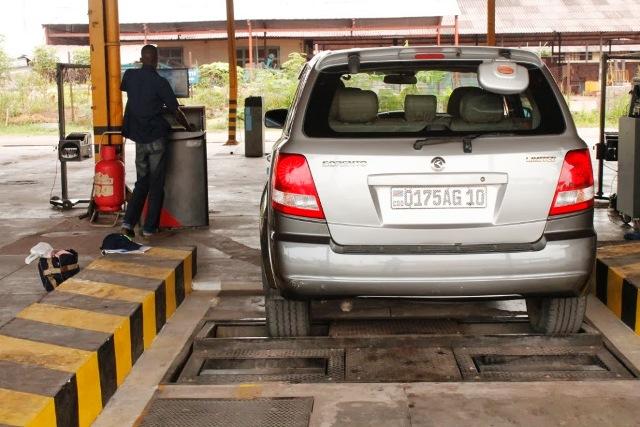 Contrôle technique automobile à Kinshasa
