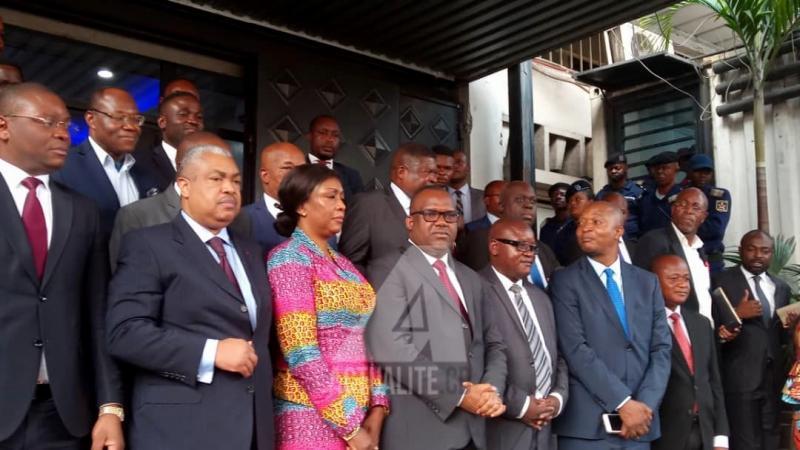 Corneille nangaa et les candidats