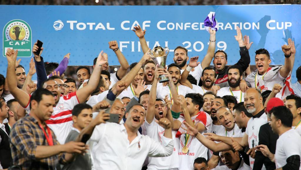 Coupe de la CAF Zamalek remporte son premier titre après 16 ans