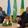 Dénis Sassou Nguesso et Paul Kagame