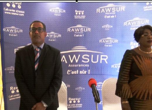 DG de RAWSUR Life SA et la Ministre des Affaires Sociales