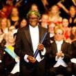 Denis Mukwege à l'Université de Göteborg en Suède