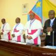 Des évêques membres de la CENCO lors de travaux du dialogue national inclusif à Kinshasa, le 09/12/2016. Radio Okapi/Ph. John Bompengo.