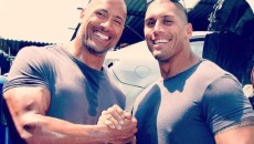 Dwayne Johnson et Tanoai Reed