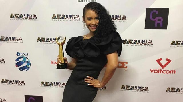 Eto'o Tsana à la 4ème édition de l African Entertainment Awards AEAUSA