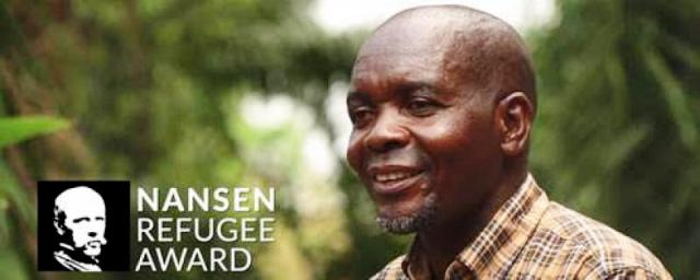 Evariste Mfaume, lauréat Prix Nansen du HCR édition 2019