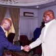 Félix Tshisekedi et Benoît Lwamba