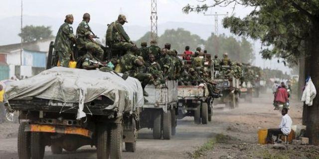 FARDC en patrouille à l'Est