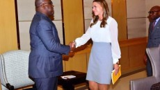 Ida Sawyer et Félix Tshisekedi