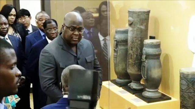 Inauguration du Musée National de la République Démocratique du Congo