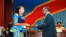 Jeanine Mabunda circonscrit les grands axes du budget 2020
