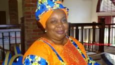 Léonie Kandolo Activiste membre du comité laïc de coordination
