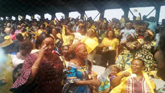 La Ligue des femmes de l'UDPS au palais du peuple