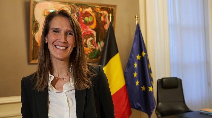La Première ministre belge Sophie Wilmès