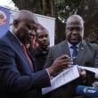 Le Chef de l'Etat, Félix Tshisekedi et son Dircab, VItal Kamerhe
