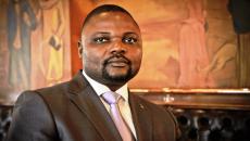 Le ministre a.i. de l'Enseignement Primaire, Secondaire et Professionnel, Emery Okundji