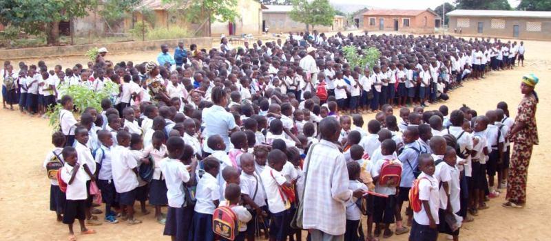 Les eleves de l'ecole primaire