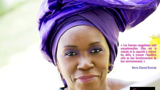 Marie Chantal Kaninda est la présidente du British Congo Business Group (BCBG