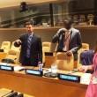 Michael Sharp et Zaida Catalan au Conseil de sécurité