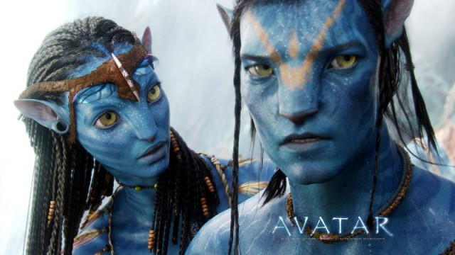 Neytiri (Zoe Saldana) et Jake Sully (Sam Worthington) AVATAR