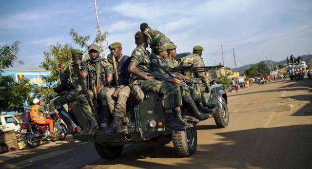 Nord-Kivu un dispositif sécuritaire renforcé à Beni fardc photos prise par Erick Ks