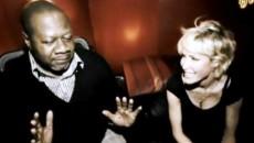 Ophélie Winter et Papa Wemba