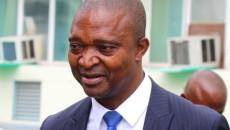 Ramazani Shadari de la majorité présidentielle, lors de travaux du dialogue national inclusif à Kinshasa, le 15/12/2016. Radio Okapi/Ph. John Bompengo