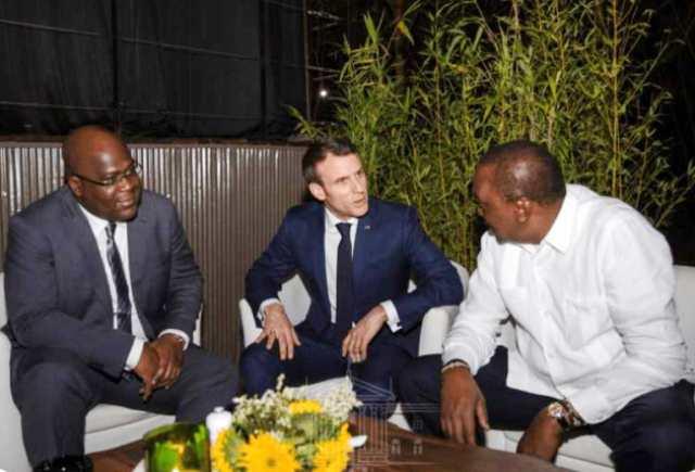 Rencontre de Nairobi Macron à F.Tshisekedi
