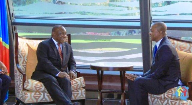 Shadary reçu par Ramaphosa en Afrique du Sud