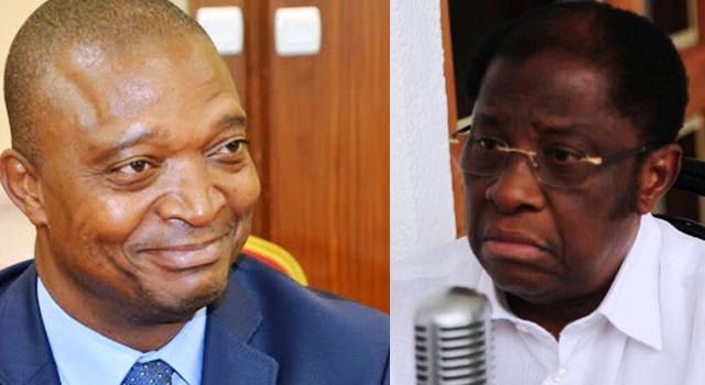 Thambwe Mwamba et E. Shadary