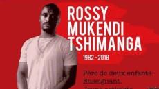 activiste Rossy Mukendi Tshimanga