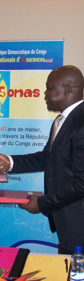 SONAS :Mars marqué par l'indemnisation remarquable d'une Congolaise