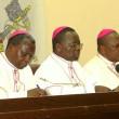 Des évêques membres de la CENCO lors de l'ouverture du dialogue national inclusif à Kinshasa, le 08/12/2016. Radio Okapi/Ph. John Bompengo