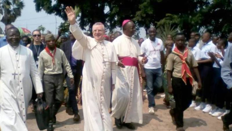 cenco Le Nonce Apostolique Mgr Utembi et Mgr Madila