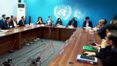 conférence de presse de la délégation du Conseil de Sécurité.