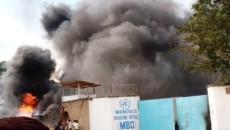 des manifestants non de la base de la Monusco à Beni