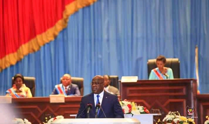 discours du chef de l'etat felix tshisekedi