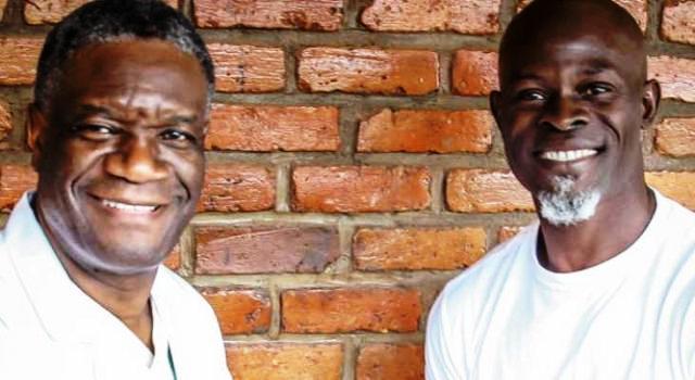 docteur Denis Mukwege et l'acteur Djimon Hounsou